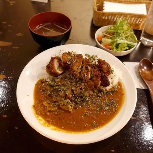 米麺亭 ランチ チキンカツカレー (16)
