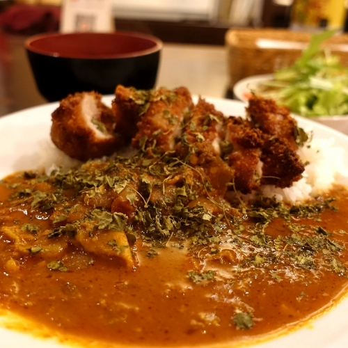 米麺亭 ランチ チキンカツカレー (17)