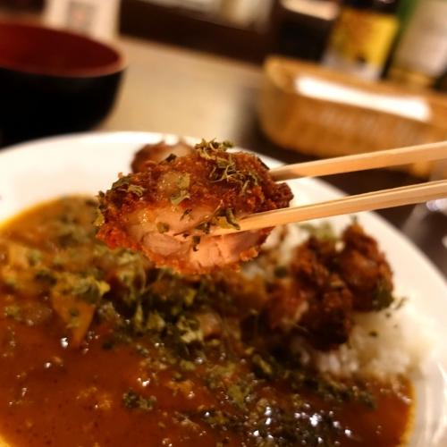 米麺亭 ランチ チキンカツカレー (22)