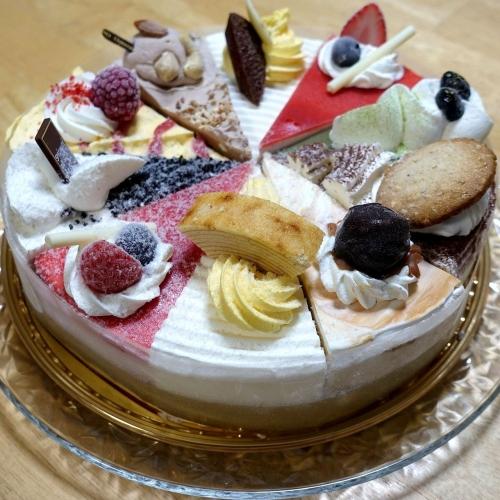 シャトレーゼ Xmasアイスアソートケーキ (13)