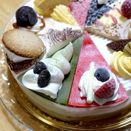 シャトレーゼ Xmasアイスアソートケーキ (11)1