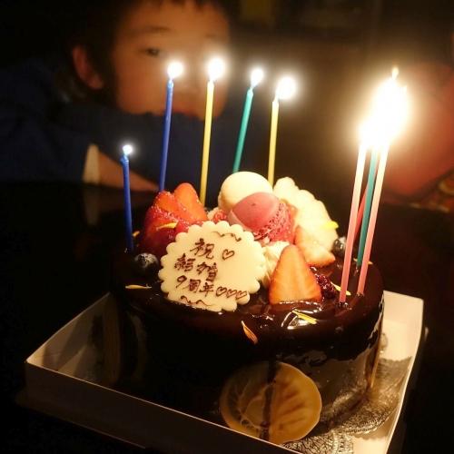 スーリールダンジュ平群店 チョコレートケーキ5号 202101 (14)