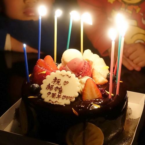 スーリールダンジュ平群店 チョコレートケーキ5号 202101 (15)