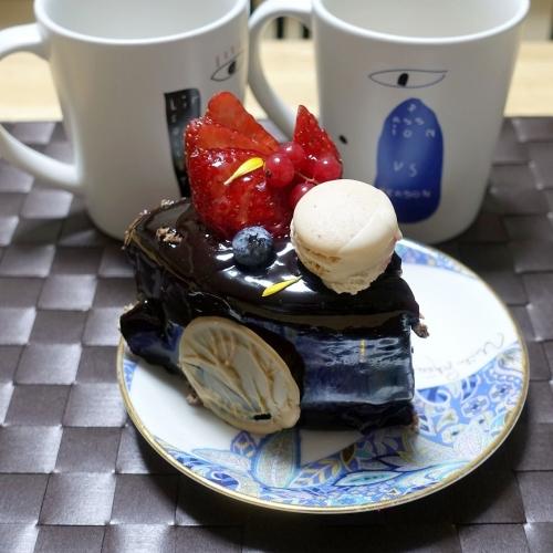 スーリールダンジュ平群店 チョコレートケーキ5号 202101 (16)