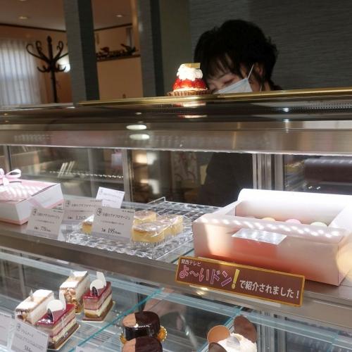 スーリールダンジュ平群店 チョコレートケーキ5号 202101 (6)