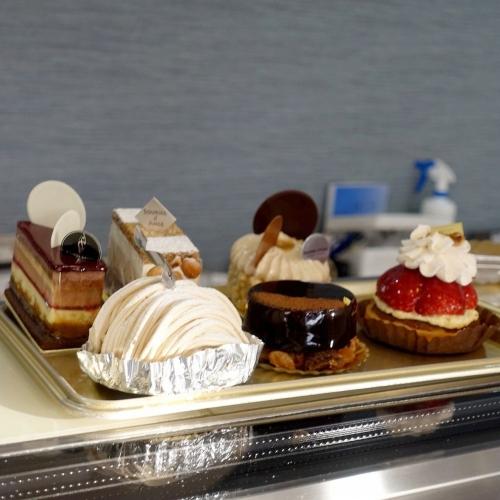 スーリールダンジュ平群店 チョコレートケーキ5号 202101 (8)