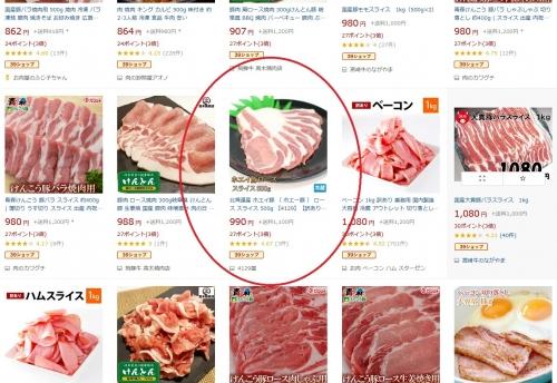 ふるさと納税 肉屋のプロ厳選 北海道産の豚肉 スライス4kg盛り 追加8-1