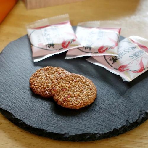 琵琶湖のえび煎餅 (1)