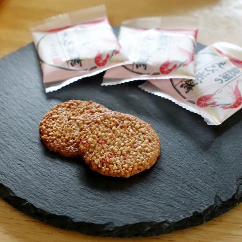 琵琶湖のえび煎餅 (2)