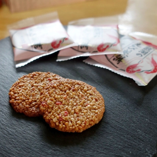 琵琶湖のえび煎餅 (3)