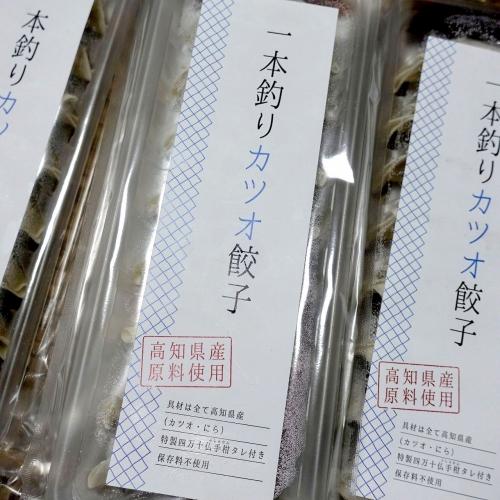 ふるさと納税 高知県四万十市 四万十ひすい餃子・かつお餃子(8ヶ×4パック×2種) (16)