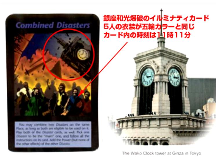 20200408銀座和光自身Tokyo Olympic