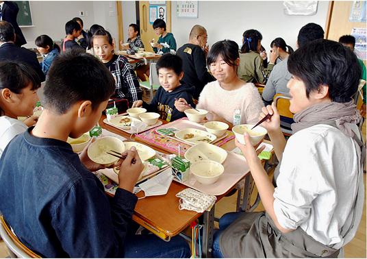 20201002有機100米学校給食