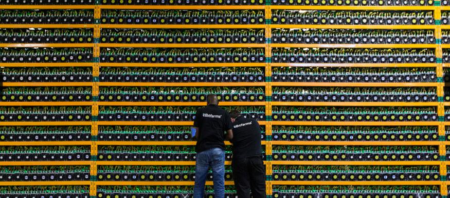 20210408ビットコイン企業のサーバー