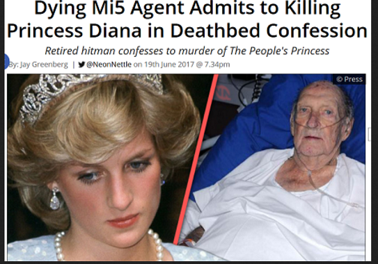 20210413DyingMI5agent admits to killing Pricess Diana