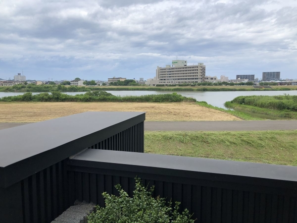 関川テラスからの眺め