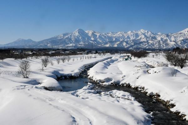 妙高雪景色