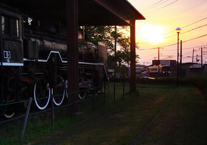 SLと朝陽