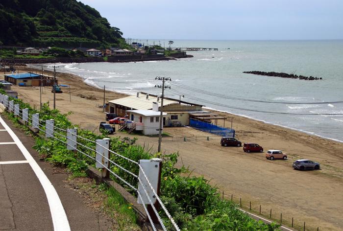 なおえつ海水浴場