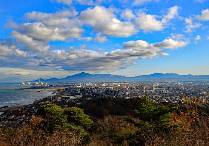 米山、尾神岳