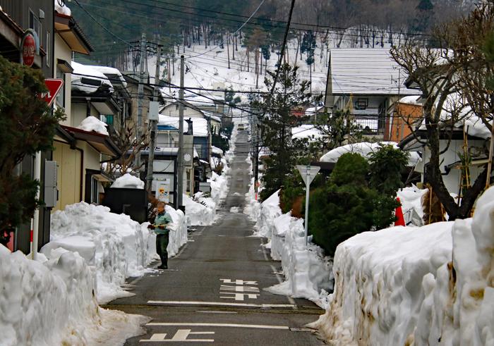 町内の道路