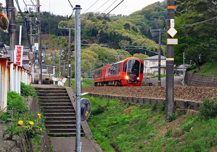 リゾート列車「雪月花」