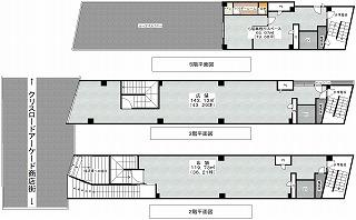 2・3・5階平面図