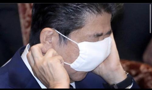 安倍さんマスク