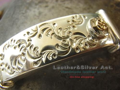 レザーブレス オーダー シルバー純銀