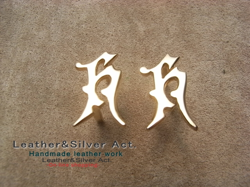 ロゴの金具 オーダーメイド