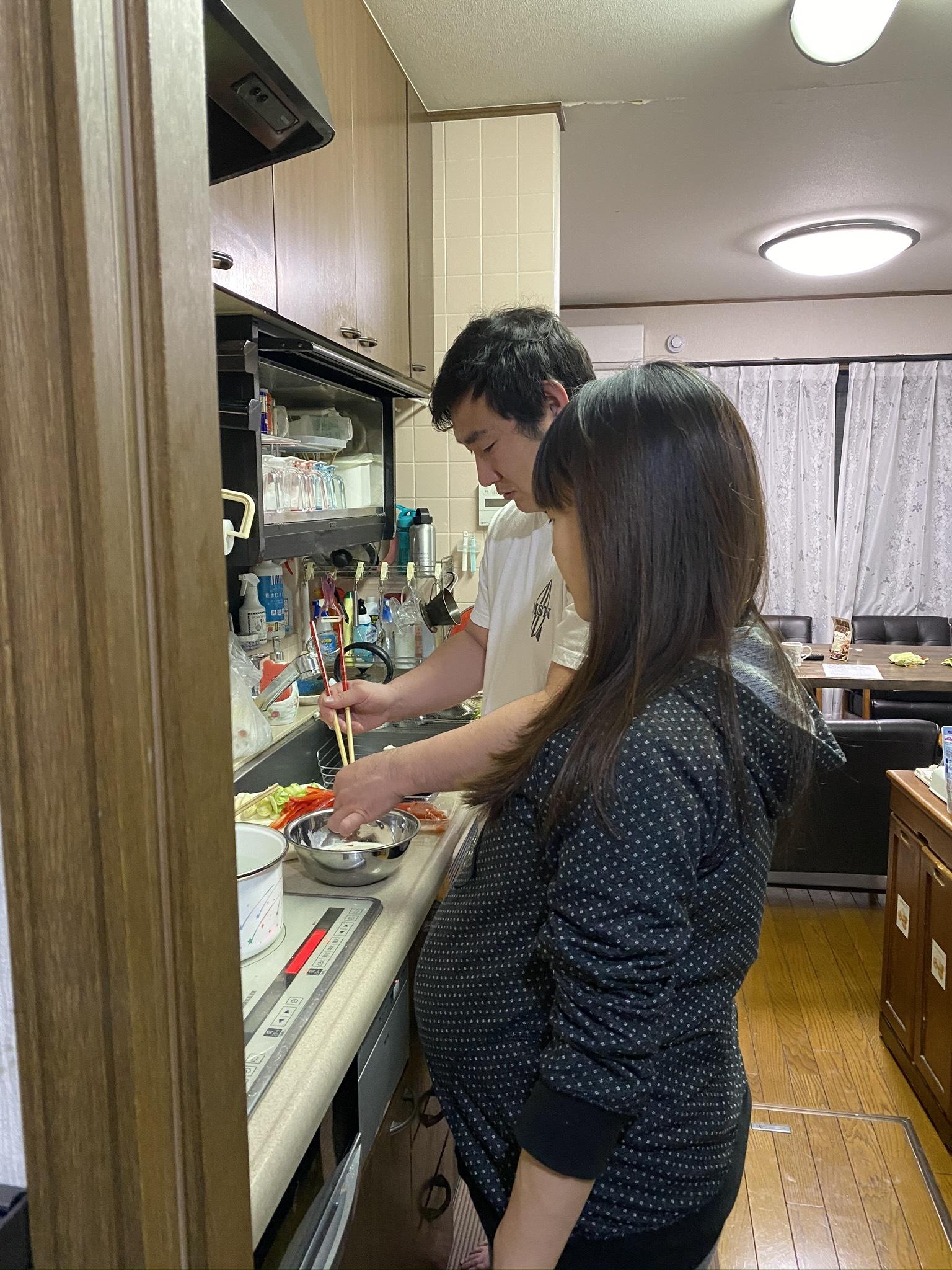 娘婿の手料理