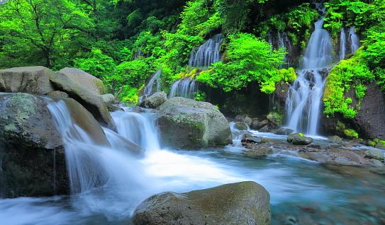雨季の吐龍ノ滝