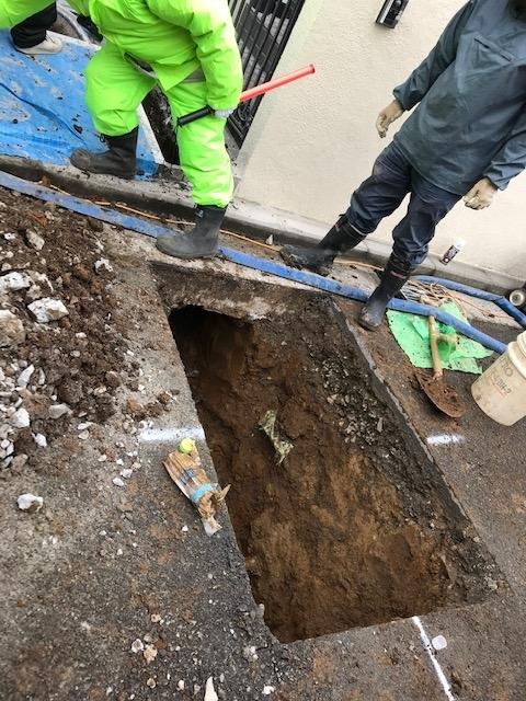 水道管工事3