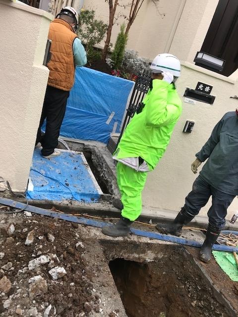 水道管工事1