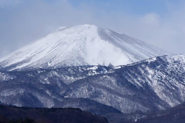 今朝の小富士