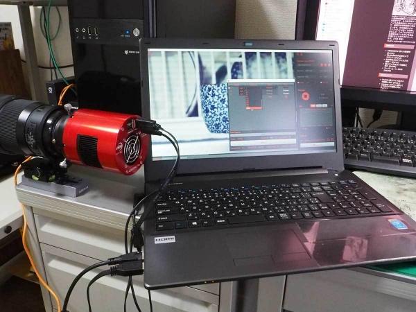 ASI6200MC_ASI-Studioによる動作確認