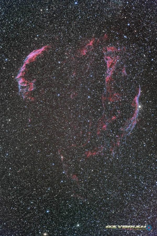 白鳥座の網状星雲_20200616