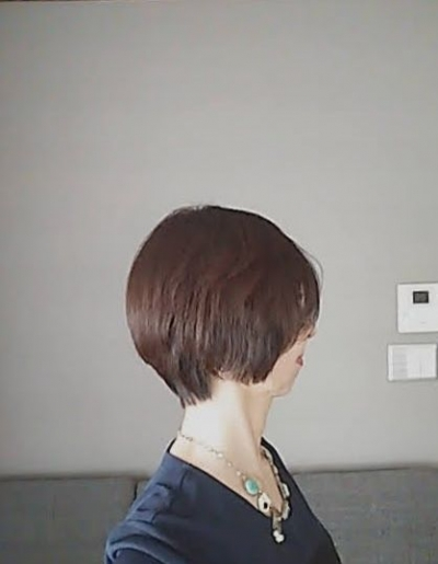 202010髪型ショートヘアスタイル
