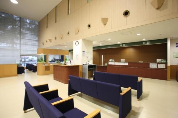 総合病院のロビー