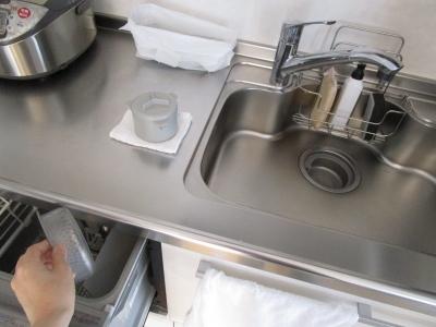 キッチン排水溝を綺麗に 2つ持ちしているもの (10)