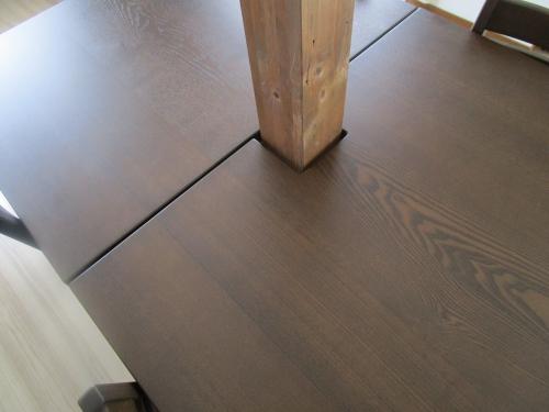 ドイモイ北海道家具 オーダー家具ダイニングテーブル (14)