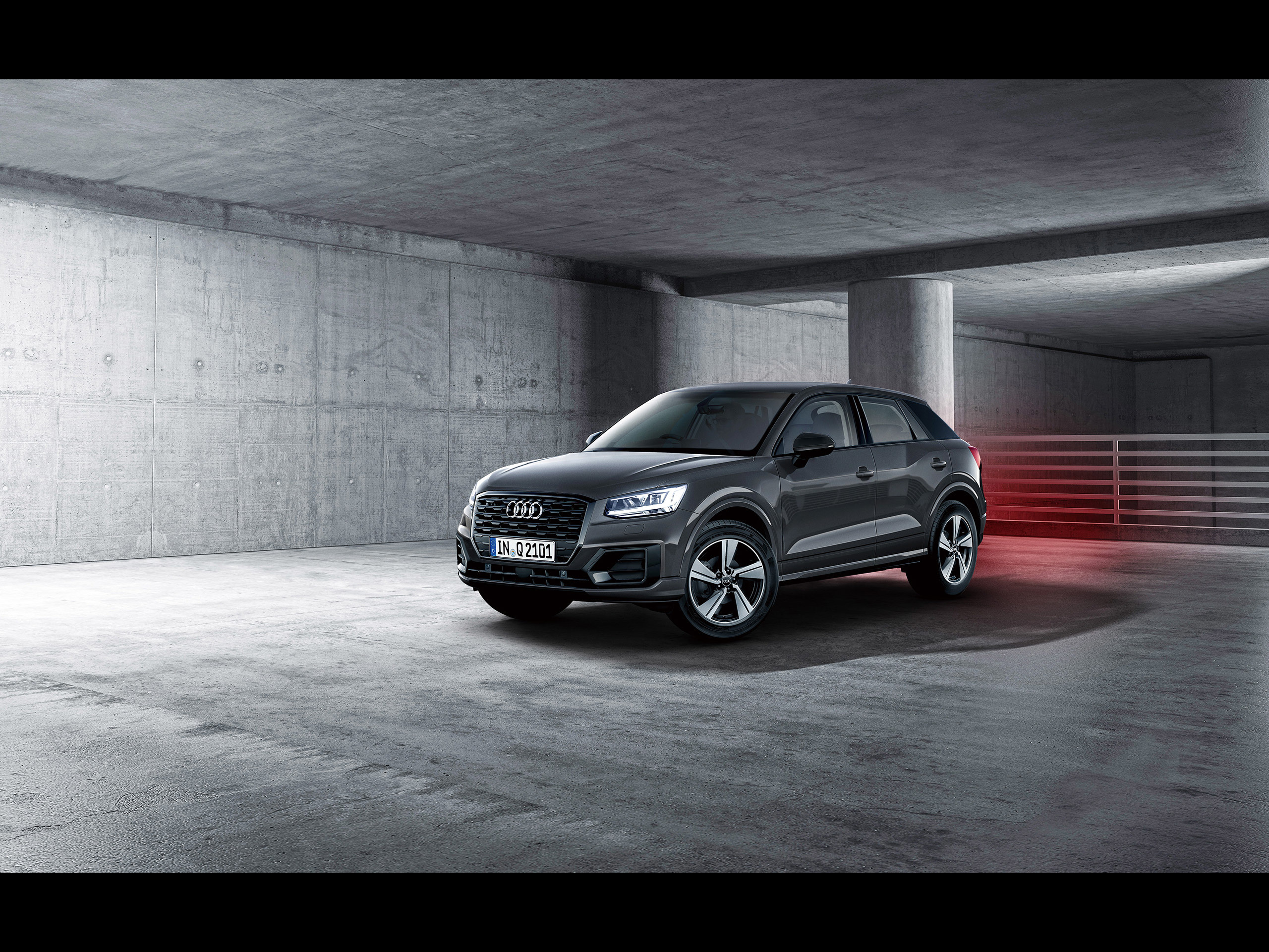 Audi Q2 アウディに嵌まる 壁紙画像ブログ