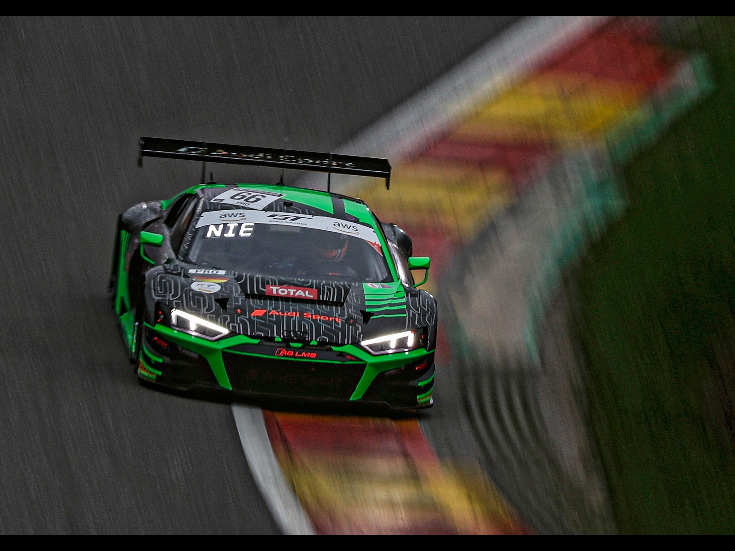 Audi R8 Lms Gt3 2nd At 24 Hours Of Spa アウディに嵌まる 壁紙画像ブログ