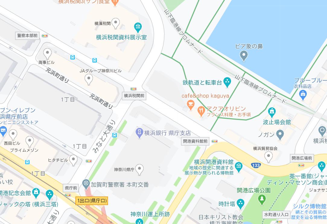 転車台ほか地図