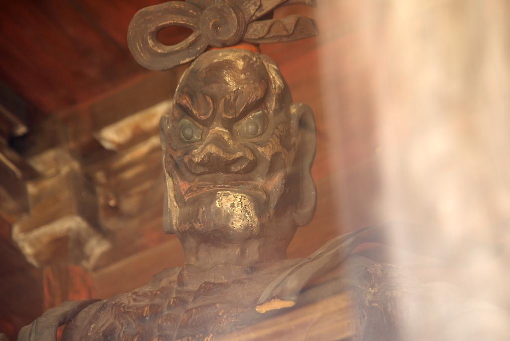 仁王門と木造金剛力士(仁王)像_5