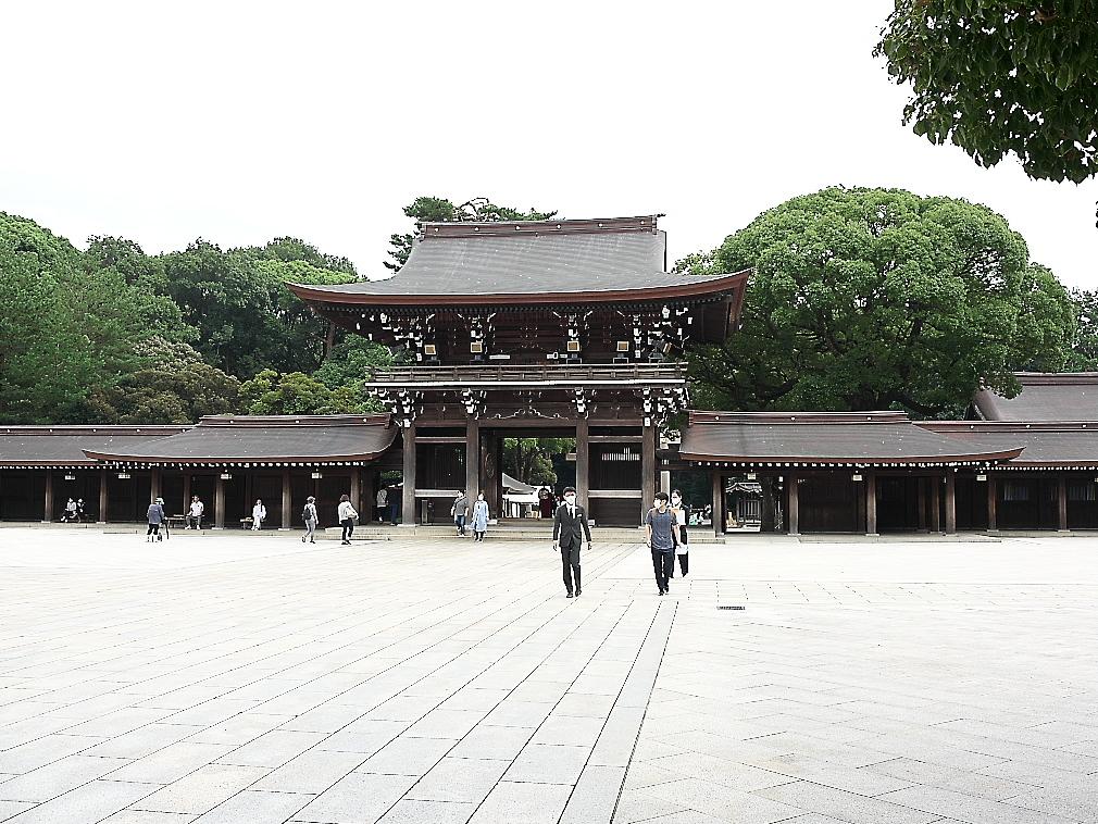 回廊と南神門(楼門)_3