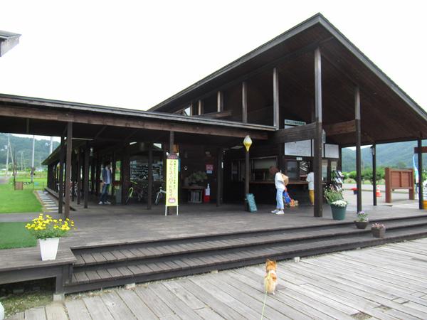 財田キャンプ場 センターハウス 受付