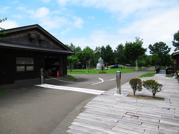 財田キャンプ場 ゲート