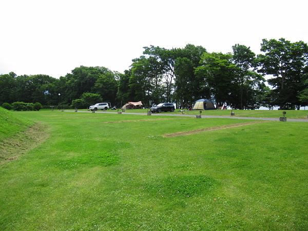 財田キャンプ場 オープンサイト