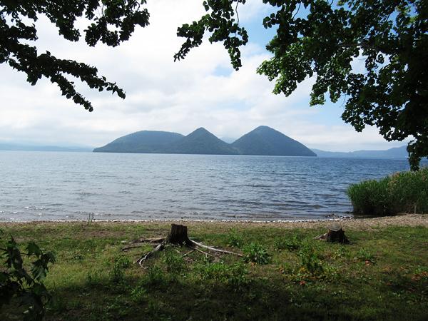 財田キャンプ場 洞爺湖 中島